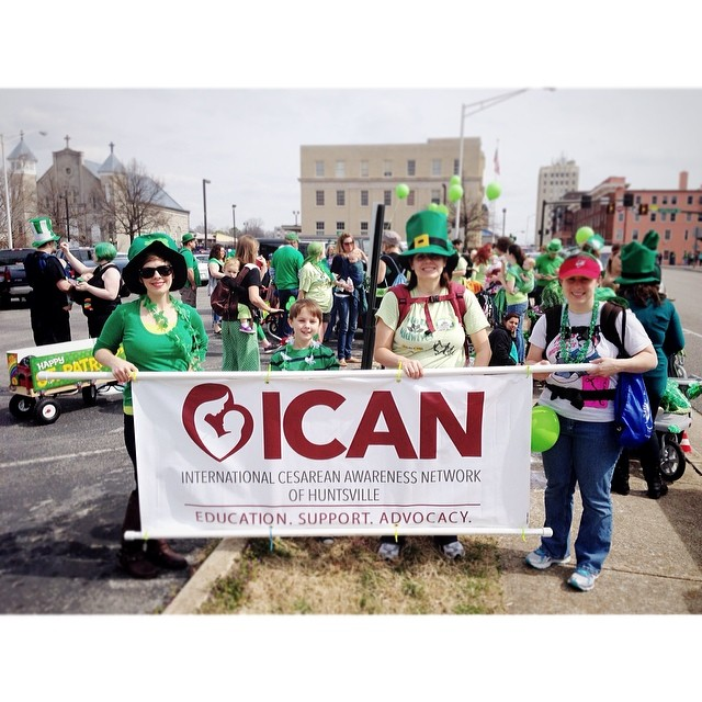 St Pattys Day Parade 2014 ICAN